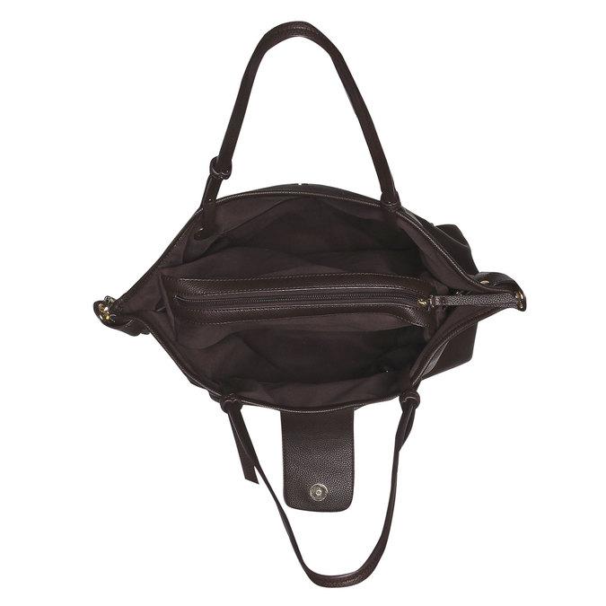 Womens Tote Bag bata, hnědá, 961-4365 - 15