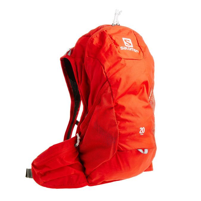 Sportovní batoh červený salomon, červená, 969-5040 - 13