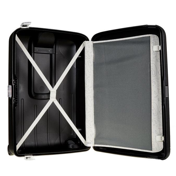 Kvalitní skořepinový kufr samsonite, černá, 960-6324 - 15