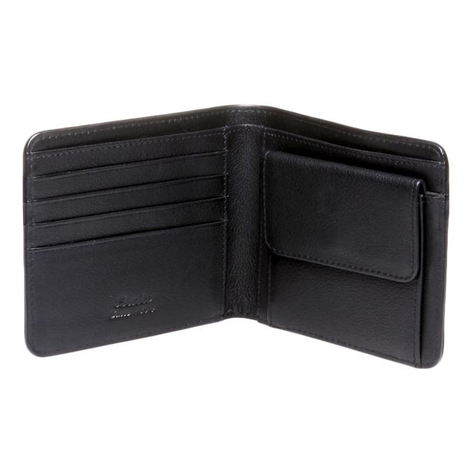 Kožená pánská peněženka bata, černá, 944-6115 - 15