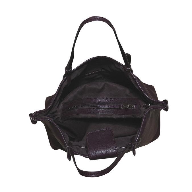Dámská kabelka v Tote stylu bata, červená, 961-5365 - 15