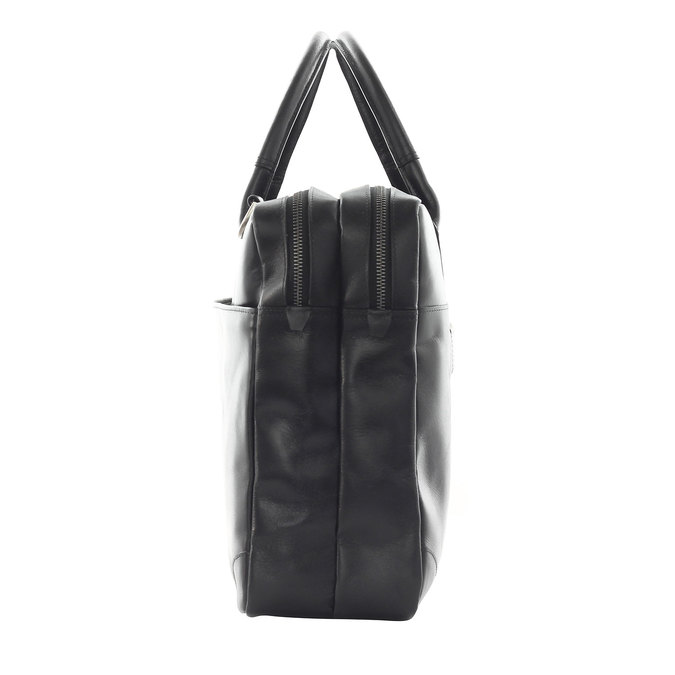 Černá kožená taška royal-republiq, černá, 964-6053 - 15