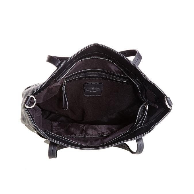 Černá Kabelka s odnímatelným popruhem bata, černá, 961-6779 - 15