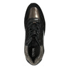 Černé kožené tenisky dámské geox, černá, 626-6030 - 19