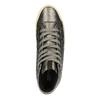 Dámské kotníčkové tenisky s prošíváním geox, šedá, 521-2030 - 19
