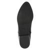 Kožená kotníčková obuv s pružením geox, černá, 514-6030 - 26