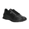 černé kožené tenisky geox, černá, 524-6030 - 13