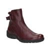 Dámská kožená zimní obuv bata, červená, 596-5347 - 13