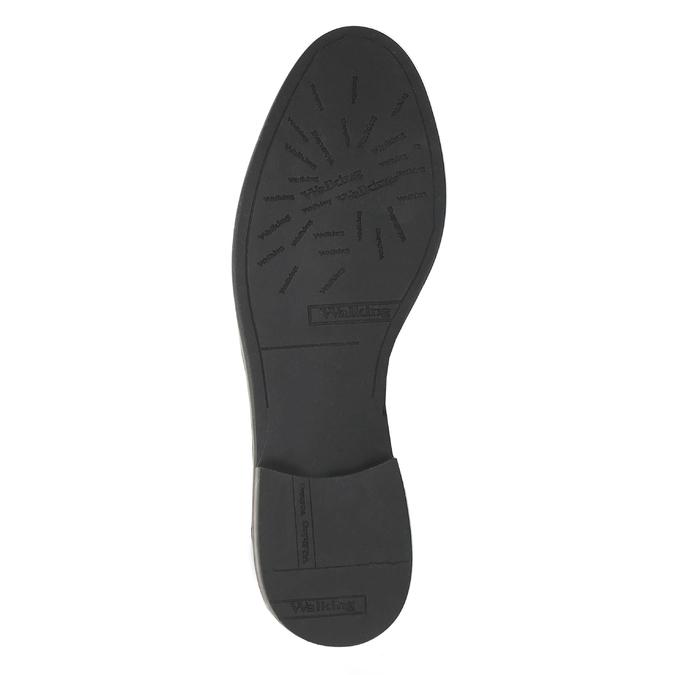 Kožená kotníčková obuv se zipy bata, černá, 596-6605 - 26
