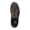 Ležérní pánské polobotky kožené rockport, hnědá, 826-4106 - 19