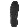 Pánské kožené polobotky rockport, černá, 824-6112 - 26