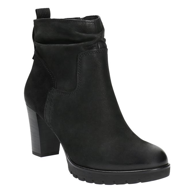 Dámská kotníčková obuv bata, černá, 796-6600 - 13