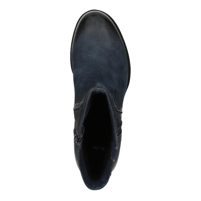 Dámská kotníčková obuv bata, modrá, 696-9603 - 19