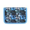 Modrý školní penál bagmaster, modrá, 949-9610 - 19