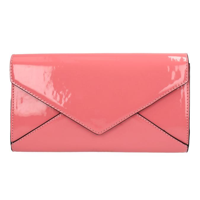 Růžové psaníčko bata, růžová, 961-5624 - 19