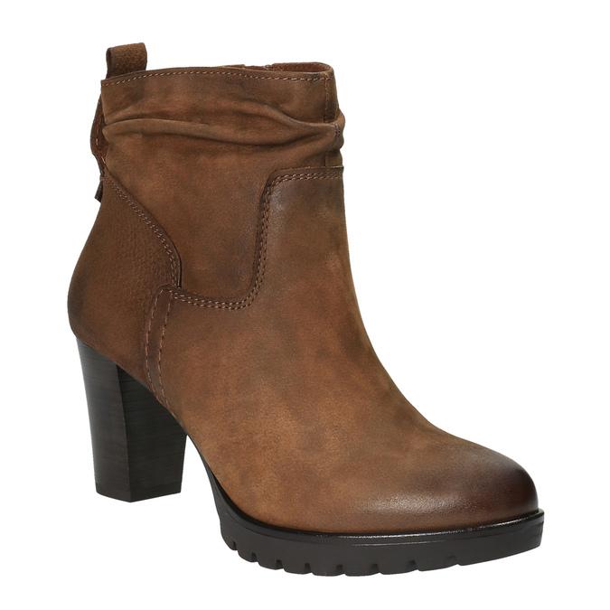 Dámská kotníčková obuv bata, hnědá, 796-4600 - 13