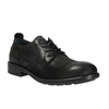 Kožené polobotky v ležérním designu bata, černá, 826-6732 - 13