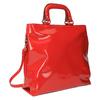 Červená dámská kabelka do ruky bata, červená, 961-5606 - 13