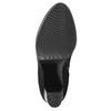 Dámská kotníčková obuv s přezkou bata, černá, 699-6630 - 19
