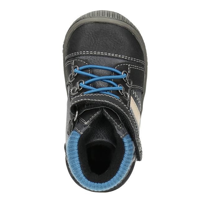 Dětská kotníčková obuv bubblegummer, černá, 111-6610 - 19