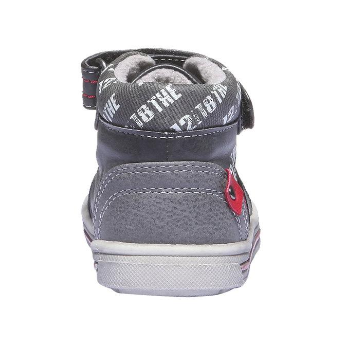 Kids shoes mini-b, černá, 111-6102 - 17