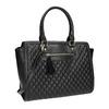 Shopper kabelka s prošíváním a střapcem bata, černá, 961-6287 - 13