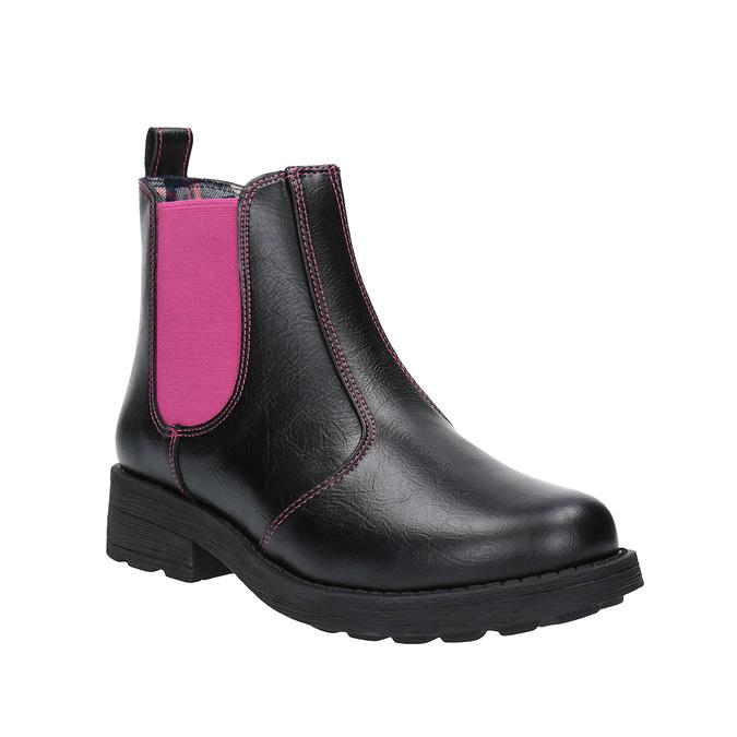 Dětské Chelsea Boots mini-b, černá, 321-5602 - 13