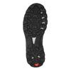 Kožená kotníčková obuv v outdoor stylu salomon, černá, 843-7052 - 26
