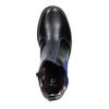 Dětská kotníčková obuv s pružným bokem mini-b, černá, 321-9602 - 19