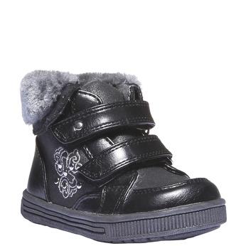 Kids shoes mini-b, černá, 121-6102 - 13