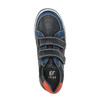 Modré dětské tenisky na suché zipy mini-b, modrá, 411-9601 - 19