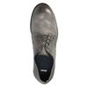 Pánské kožené polobotky v ležérním designu bata, šedá, 826-2732 - 19