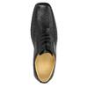 Pánské kožené polobotky comfit, černá, 824-6714 - 19