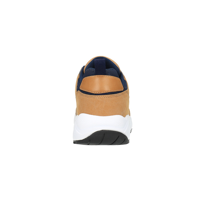 Tenisky na výrazné podešvi bata, hnědá, 841-3603 - 17