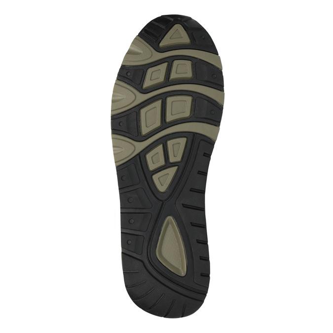 Pánské tenisky na výrazné podešvi bata, černá, 841-6604 - 26