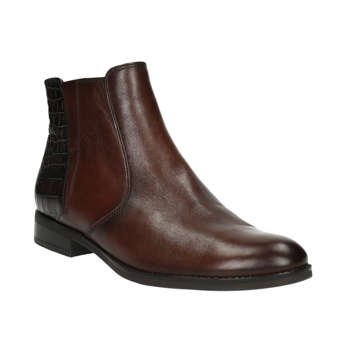 Dámská kotníčková obuv gabor, hnědá, 614-6107 - 13