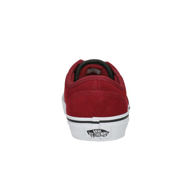 Dětské kožené tenisky vans, červená, 403-5234 - 17