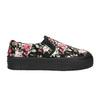 Dámské Slip-on s květinovým vzorem bata, černá, 529-0631 - 15