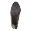 Kotníčková obuv na podpatku bata, šedá, 791-2602 - 26