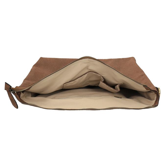 Hnědá dámská kabelka bata, hnědá, 969-3622 - 15