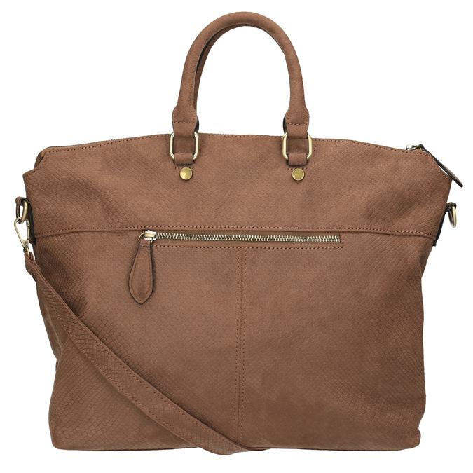 Hnědá dámská kabelka bata, hnědá, 969-3622 - 26