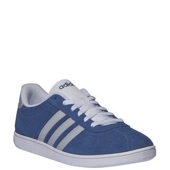 Pánské kožené tenisky adidas, modrá, 803-9132 - 13
