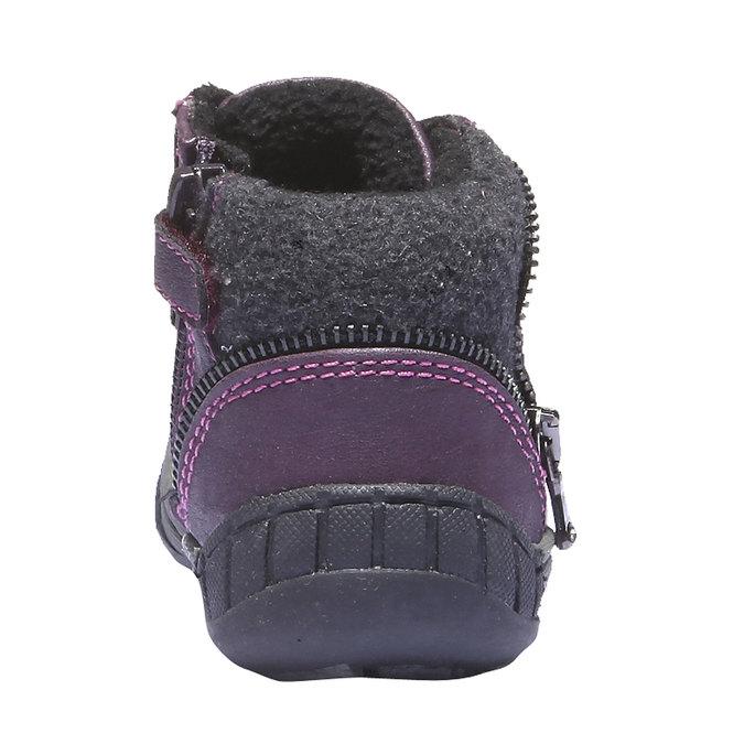 Kids shoes mini-b, fialová, 121-9101 - 17