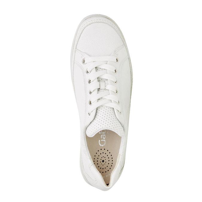 Bílé kožené tenisky gabor, bílá, 544-1102 - 19