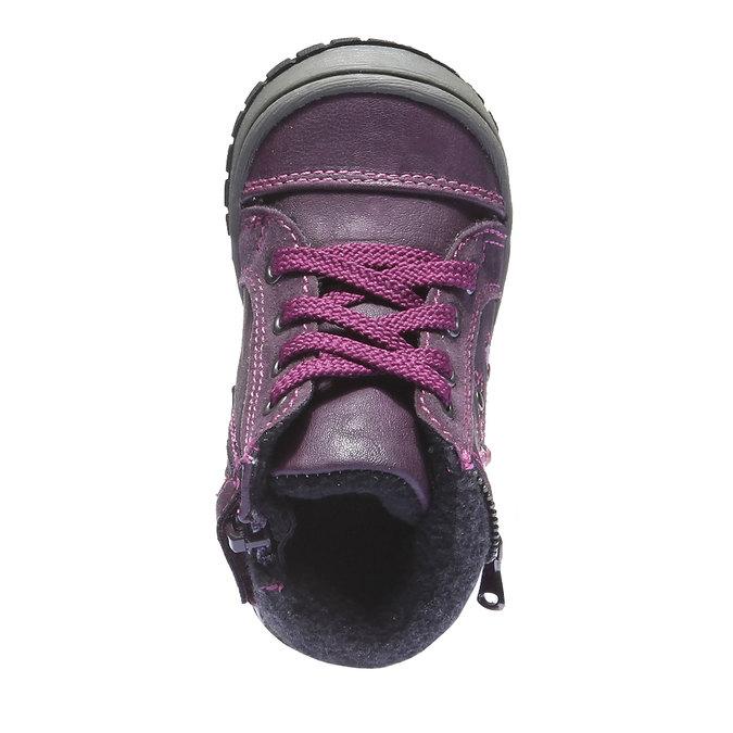 Kids shoes mini-b, fialová, 121-9101 - 19