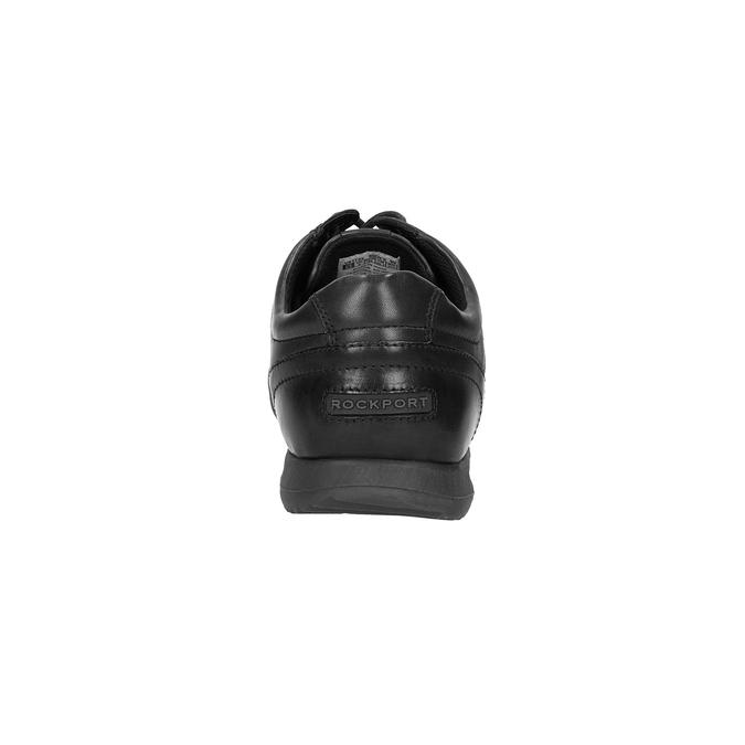 Ležérní kožené polobotky rockport, černá, 824-6038 - 17
