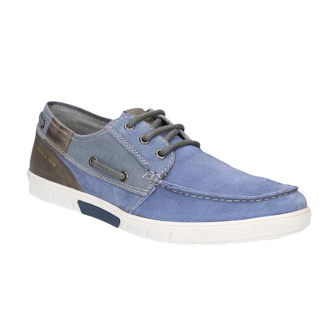 Pánské sportovní mokasíny bugatti, modrá, 823-9012 - 13