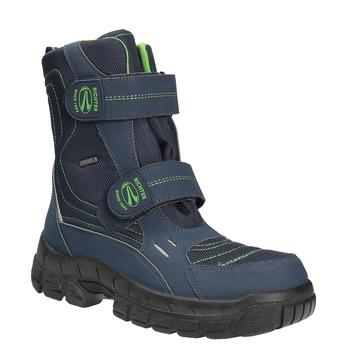 Dětská zimní obuv na suché zipy richter, modrá, 429-9001 - 13