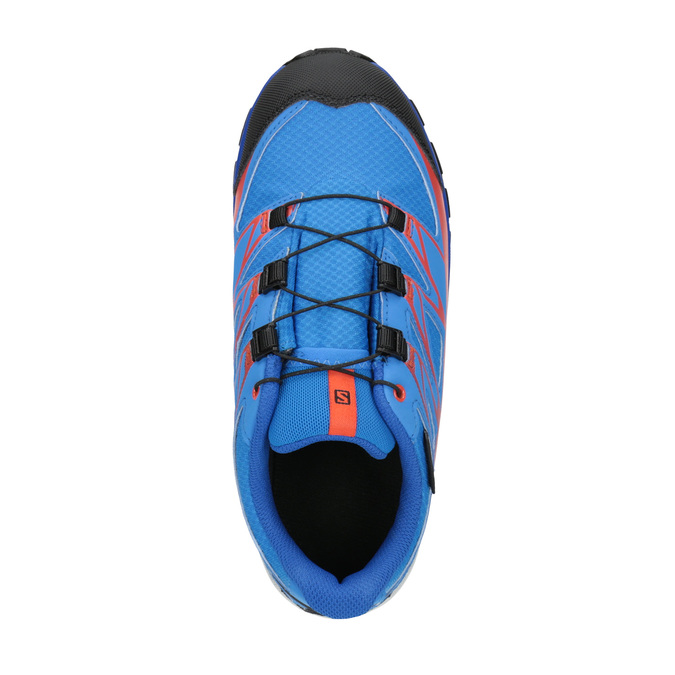 Dětská sportovní obuv v Outdoor stylu salomon, modrá, 499-9011 - 19
