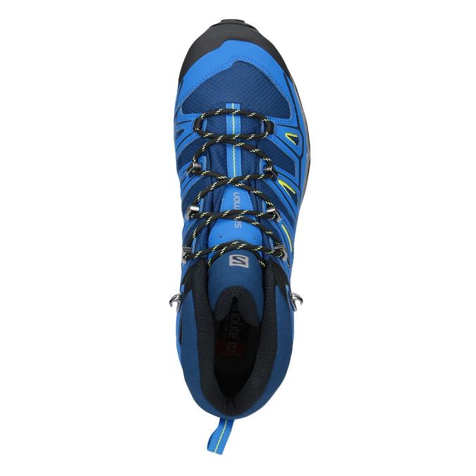 Kotníčková obuv v Outdoor stylu salomon, modrá, 849-9052 - 19
